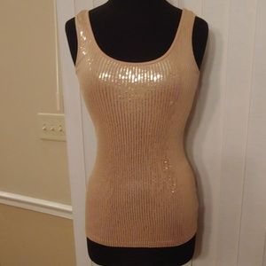 Express size small sequin tank